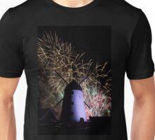 Lytham Windmill Fireworks Unisex T-Shirt