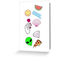Cool stuff Greeting Card