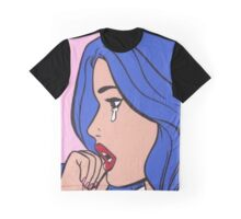 Crying Comic Girl 1 Graphic T-Shirt