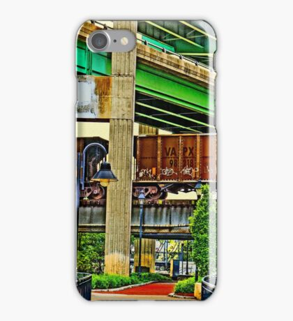 Trains and Bridges iPhone Case/Skin
