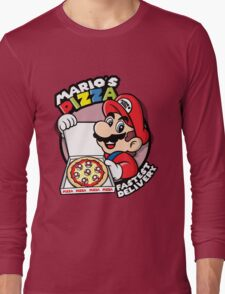 Mario's pizza Long Sleeve T-Shirt