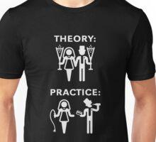 Theory & Practice / Bride & Groom (Wedding / White) Unisex T-Shirt