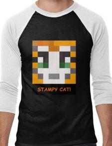 Stampy Cat! Men's Baseball ¾ T-Shirt
