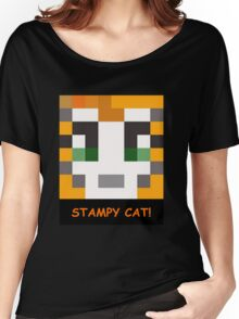 Stampy Cat! Women's Relaxed Fit T-Shirt