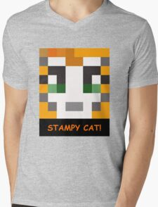 Stampy Cat! Mens V-Neck T-Shirt