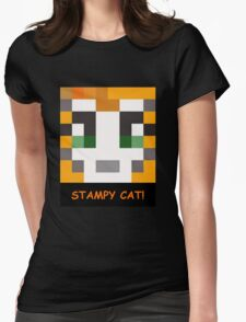 Stampy Cat! Womens Fitted T-Shirt