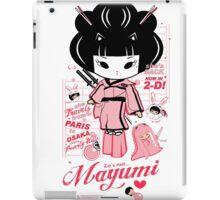 Mayumi in 2D iPad Case/Skin