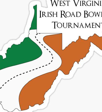 Irish Road Bowling Tournament Sticker