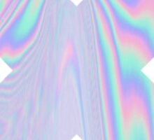 Holographic X Dude Sticker