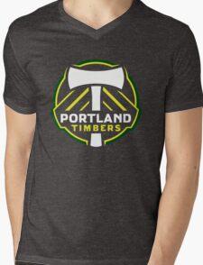 portland timbers Mens V-Neck T-Shirt