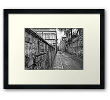 Brewer Street in Oxford Framed Print