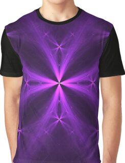 Purple Swag | Mushroom Graphic T-Shirt