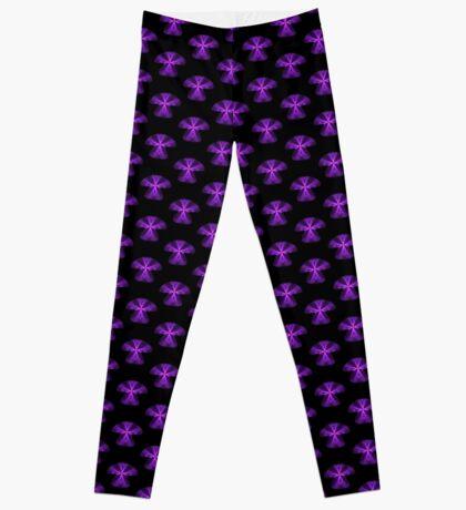 Purple Swag   Mushroom Leggings