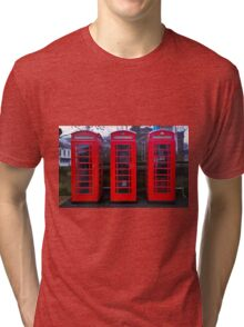 Telephone Box Tri-blend T-Shirt