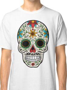 Skull floral 4 Classic T-Shirt