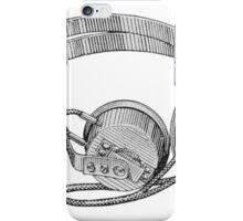 Headphones - Vintage iPhone Case/Skin