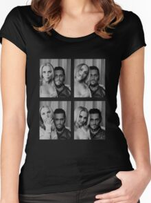 Buffalo 66 spanning time Women's Fitted Scoop T-Shirt