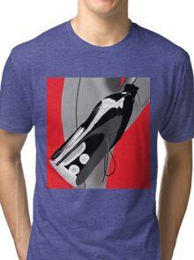 Black heels grey stockings Tri-blend T-Shirt