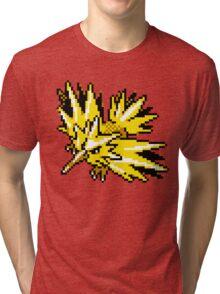 Zapdos Retro Tri-blend T-Shirt