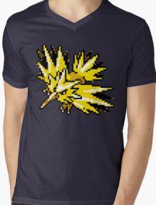 Zapdos Retro Mens V-Neck T-Shirt
