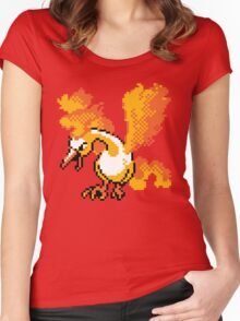 Moltres Retro Women's Fitted Scoop T-Shirt