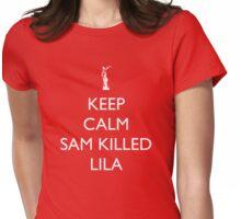 Sam Killed Lila Womens Fitted T-Shirt