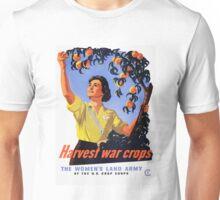 Harvesting War Crops Picking Peaches Unisex T-Shirt