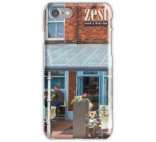 Zest - A Deli & Wine Bar in Lytham iPhone Case/Skin