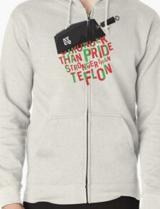 Stronger than Teflon A Tribe Called Quest Zipped Hoodie