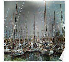 Port de Barcelona Poster