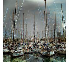 Port de Barcelona Photographic Print