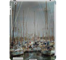 Port de Barcelona iPad Case/Skin