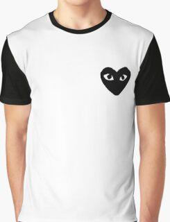 comme des garcons logo Graphic T-Shirt