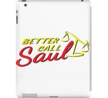 Better Call Saul LOGO iPad Case/Skin
