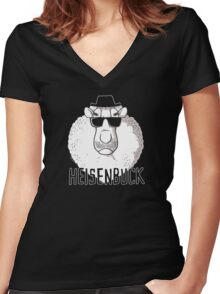 Heisenbuck Women's Fitted V-Neck T-Shirt