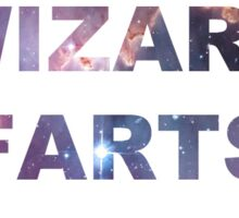 WIZARD FARTS (WHITE) Sticker