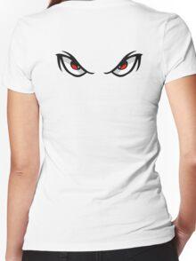 Skepta Eyes Women's Fitted V-Neck T-Shirt
