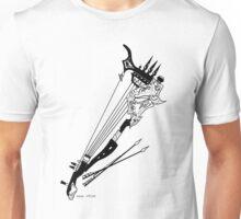 Inktober 9, 2015 - Antiquated Berimbau Unisex T-Shirt