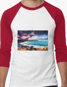 Rocky Beach Men's Baseball ¾ T-Shirt