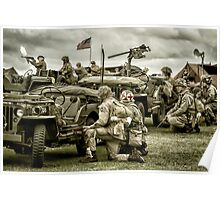 40's WWII Re-enactment Poster