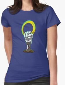 One Last Ring  Womens Fitted T-Shirt