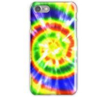 Tie Dye - Red, Blue, Yellow - primary colors iPhone Case/Skin