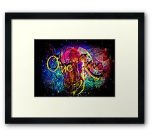 A One Love Universe Framed Print