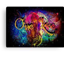 A One Love Universe Canvas Print