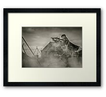 British WWII Soldier Framed Print