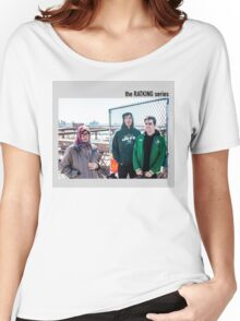 old lady photobomb Women's Relaxed Fit T-Shirt