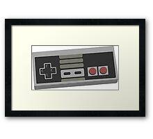 nintendo 64 controller Framed Print