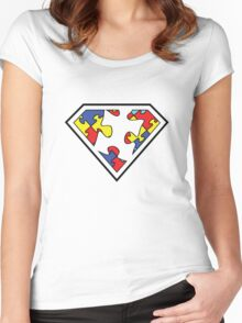 Autism is my Super Power Women's Fitted Scoop T-Shirt