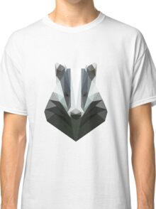 Low Poly Honey Badger Classic T-Shirt