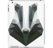 Low Poly Honey Badger iPad Case/Skin